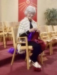 """Old Deaf Woman"""