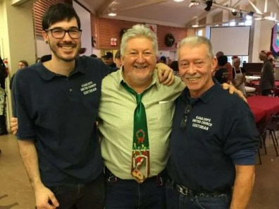 KUC staff - Ignacio, Rick and Jim