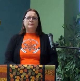 Diane, Reconciliation Exploration Circle leader