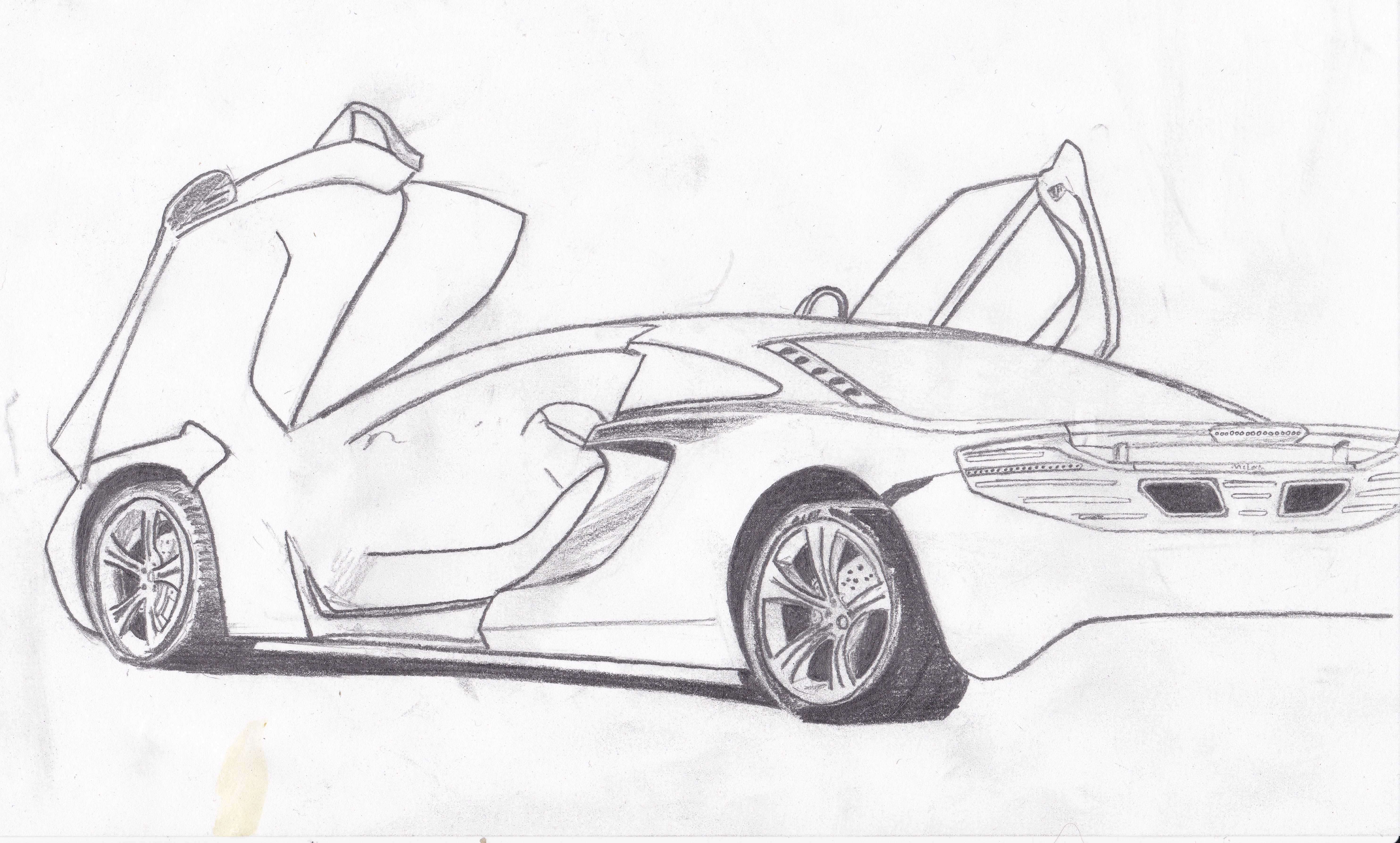Cool Car Drawings Pictures To Pin