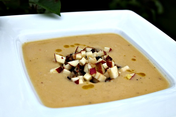 Kikærtesuppe – forklædt som Egernsuppe