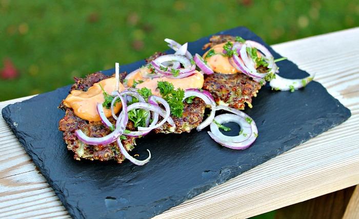 Sprøde Quinoa frikadeller