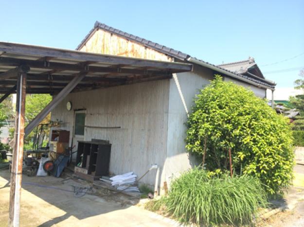 K様邸倉庫新築工事(外壁・樋)(愛知県一宮市)