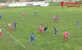 Καμπανιακός-Αχιλλέας Τριανδρίας 1-0