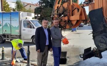 Καθαρισμός φρεατίων στον Δήμο Δέλτα