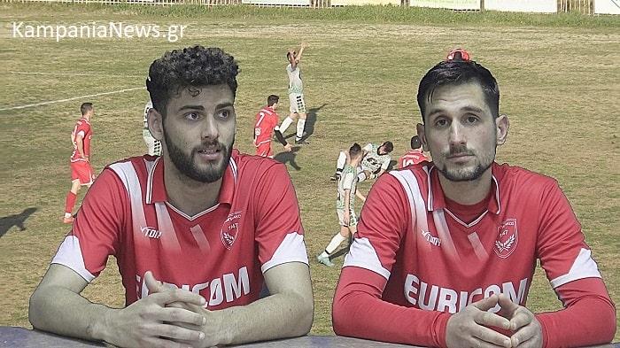Αλμπάνης & Τάσσιος στην κάμερα του kampanianews