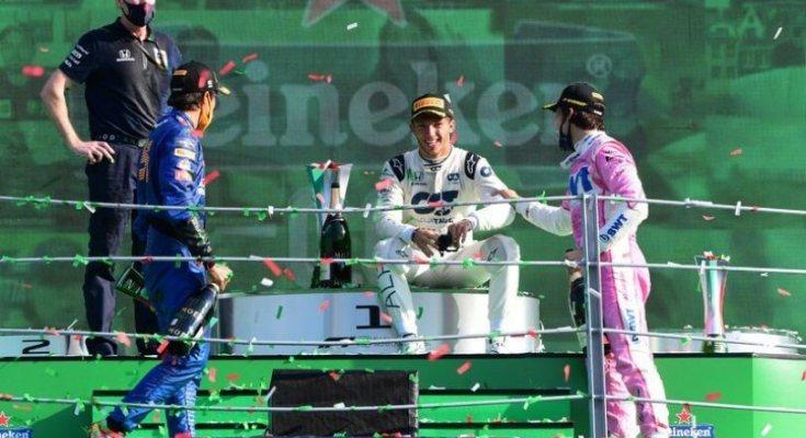 Ο Γκασλί νικητής στην F1