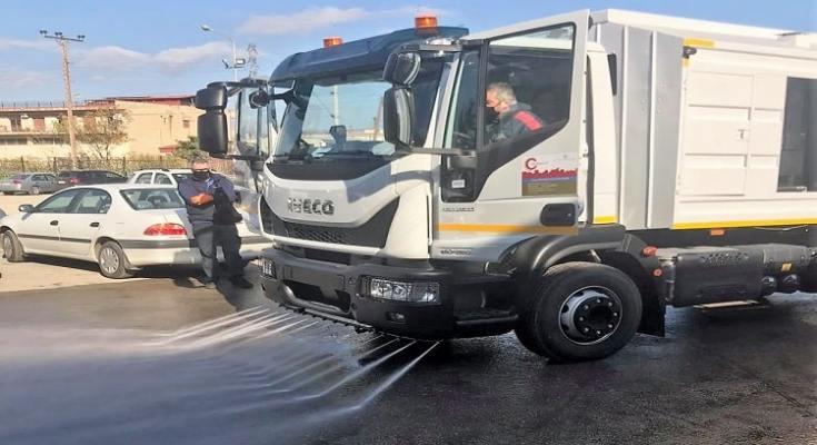 Νέα μηχανίματα καθαριότητας στον Δήμο Δέλτα