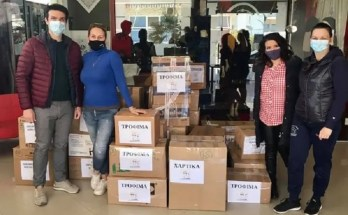 Τρόφιμα στους σεισμόπληκτους από το χορευτικό Χαλάστρας