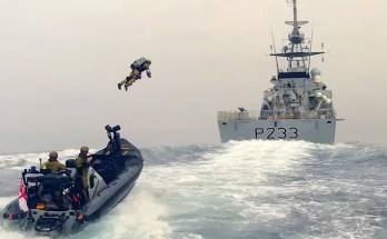 Εντυπωσιακή επιχείρηση από το Βασιλικό Ναυτικό