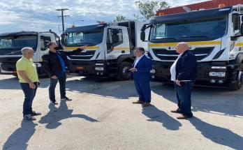 Νέα απορρηματοφόρα στον Δήμο Δέλτα