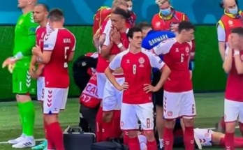Ανακοπή ποδοσφαιριστής της Δανίας