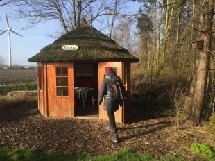 Boshut dient als picknickplaats