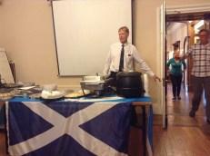 Schotse proeverij (met whisky en haggis)
