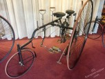 A-symetrische driewieler: Conventry Rotary Tandem, ca. 1885, Rudge Cycle Co. Ltd. GB