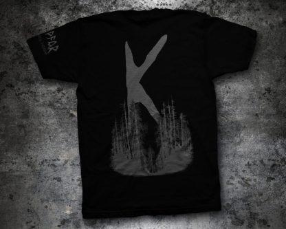 Kampfar - Muro Muro Minde (T-Shirt back) | Official Kampfar Merchandise Webshop Webstore Onlineshop