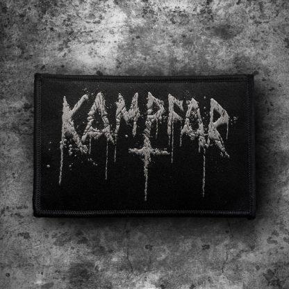 Kampfar - Splatter Logo (Patch) | Official Kampfar Merchandise Webshop Webstore Onlineshop