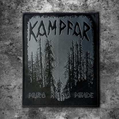 Kampfar - Muro Muro Minde (Patch) | Official Kampfar Merchandise Webshop Webstore Onlineshop