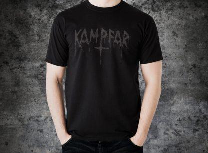 Kampfar - Splatter Logo (T-Shirt man) | Official Kampfar Merchandise Webshop Webstore Onlineshop