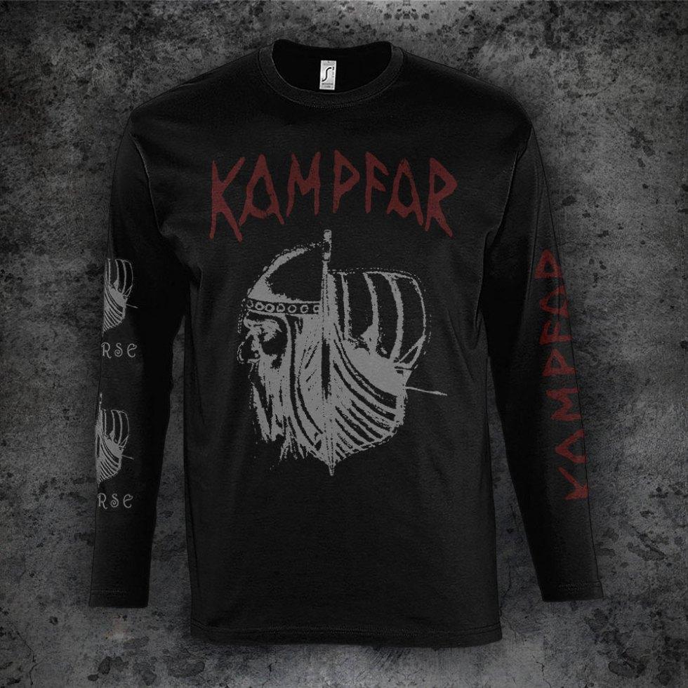 Kampfar - Norse (Longsleeve Shirt) | Official Kampfar Merchandise Webshop Webstore Onlineshop