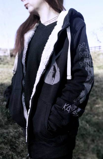 Kampfar - Muro Muro Minde (Sherpa Jacket) | Official Kampfar Merchandise Webshop Webstore Onlineshop
