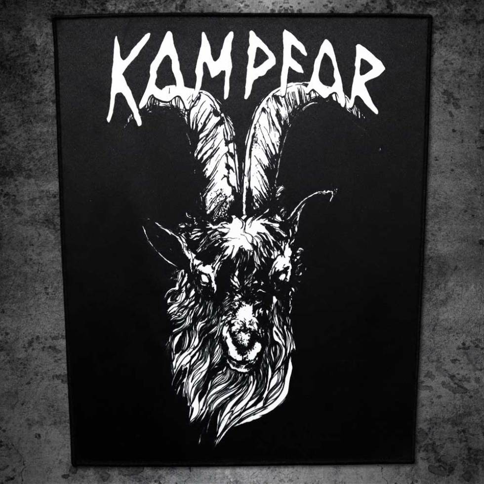 Kampfar-Goat-Backpatch