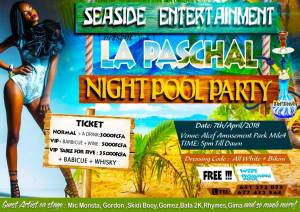EVENT: La Paschal Night Pool Party.