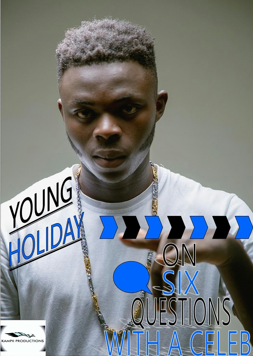 """ I can boastfully say kamer has the best rappers and messengers in Africa"" Young Holiday."