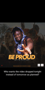 Download / Téléchargez Be Proud by Witty Minstrel