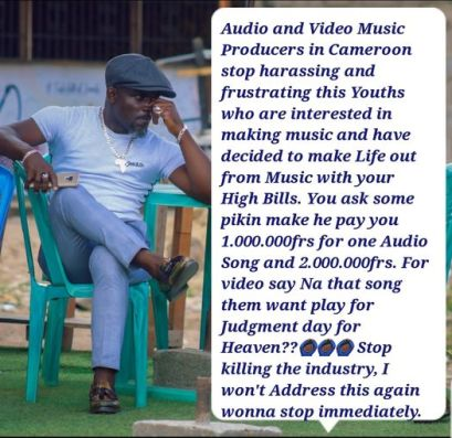 Old Pancho Calls Out 237 Music Producer And Directors For Charging Huge Sums Of Money From Artists For Songs
