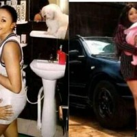 Cameroon Singer Mel B and hubby buy Benz for their new born baby