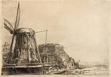 Rembrandt, The Windmill