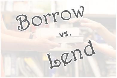 penggunaan borrow dan lend