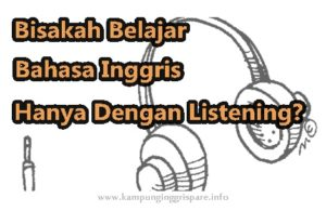 listening bahasa inggris