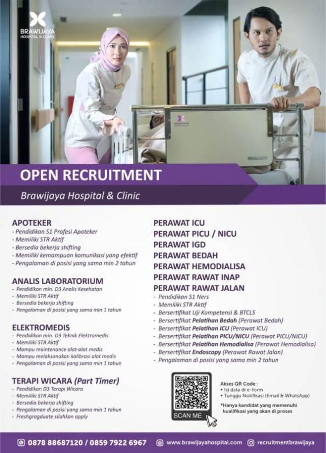 Lowongan Kerja Perawat RS Brawijaya Tangerang
