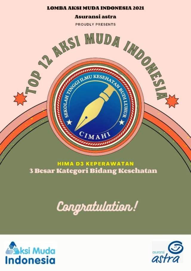 STIKES Budi Luhur Masuk 20 Besar Universitas se-Indonesia dalam Aksi Muda Indonesia