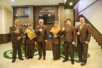 Pimpinan STIKES Budi Luhur Kunjungi Ketua DPRD Kota Cimahi