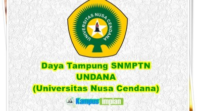Photo of Daya Tampung SNMPTN UNDANA 2020/2021 (Universitas Nusa Cendana)