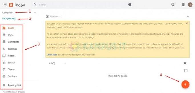 Bikin blog di blogger gratis