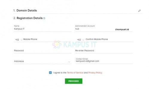 Cara mudah membuat email pribadi dengan email hosting Zoho mail