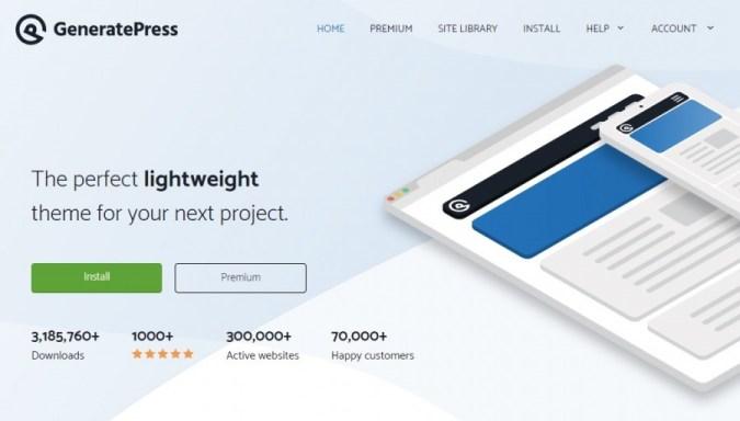 GeneratePress Gratis