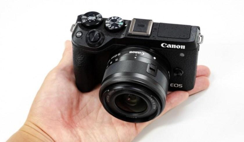 Kamera Terbaik Canon EOS M6 Mark II