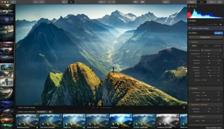 Aplikasi Edit Foto Skylum Luminar