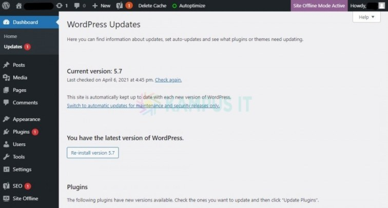 Fitur WordPress