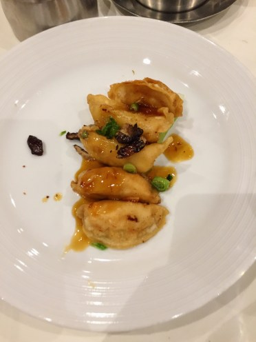 My favourite- Prawn gyoza (prawn dumpling)