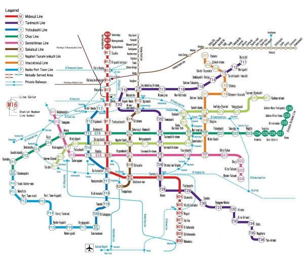 """A Quick Guide to Osaka's Train System 
