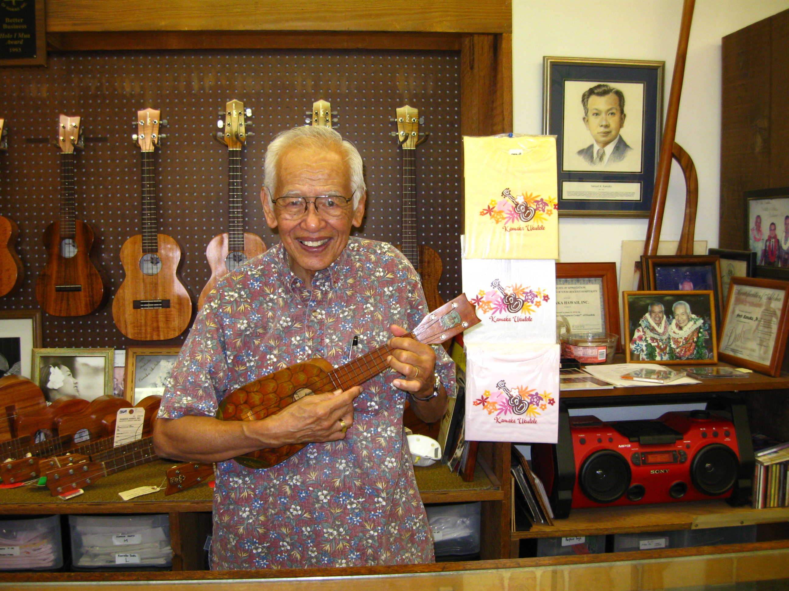 CONSTRUCTION ZONE: KAMAKA UKULELE