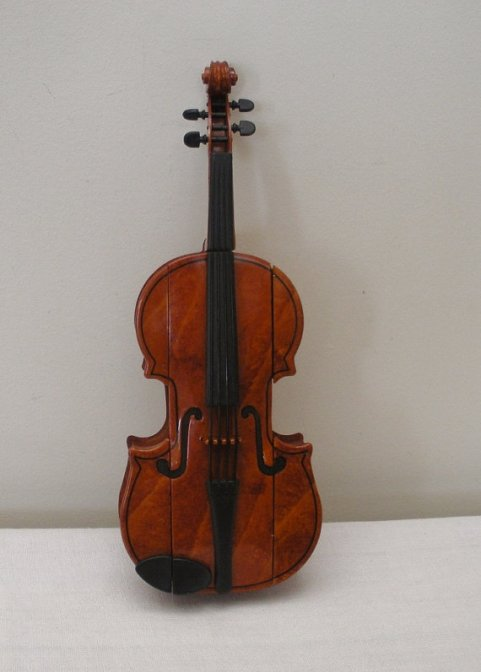 There's something not quite right about this violin....