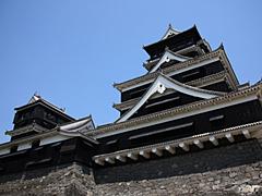 写真:熊本城 天守閣