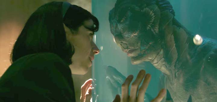Adegan film The Shape of Water film terbaik Oscars 2018